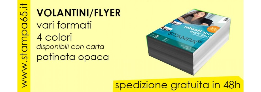 Volantini  Flyer