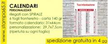 Calendari 31x44 con spirale